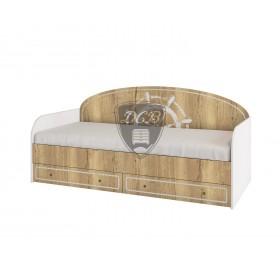 """Кровать с ящиками """"Юнга"""""""
